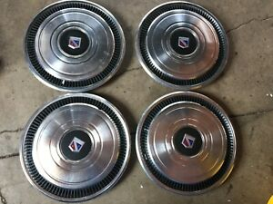 1980 1984 Buick Electra Park Avenue 15 Hubcaps Wheel Covers Set 4