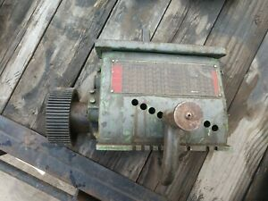South Bend 14 1 2 Quick Change Gear Box Single Tumbler Used Southbend 14 5 16