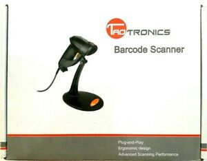 Taotronics Wired Usb Barcode Scanner Model 30 88001 003 New In Box Black