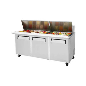 Turbo Air Mst 72 30 n Refrigerated Counter Mega Top Sandwich Salad Unit