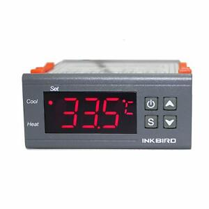 Digital Lcd Temperature Controller Thermostat With Sensor Cooling Heating