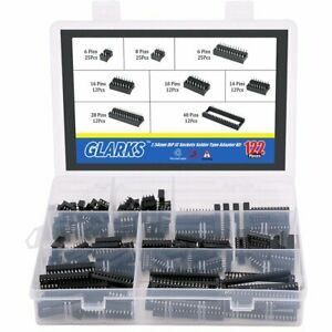 Quality Dip Ic Sockets Kit Great Electronic Component For Pcb Board 122 pc
