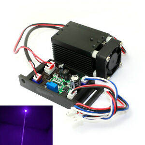 12v 405nm 300mw Violet purple Laser Diode Dot Module For Uv Curing 3d Printing