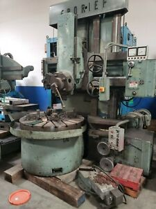 Froriep 49 Inch Vertical Turret Lathe With Side Head