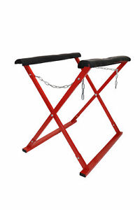 Dragway Tools 600 Lb Heavy Duty Square Tube Work Stand Auto Body Paint Door Hood