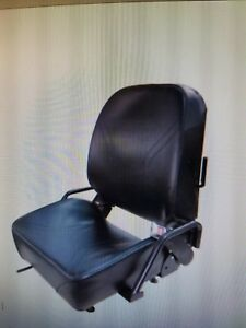 Forklift Seat Hyster Yale Komatsu Nissan With Seat Belt And Ops Switch