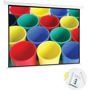 Pyle r Prjelmt106 Pyle r Motorized Projector Screen 100