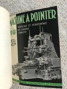 Sip Mp 6b Jig Boring Machine Technical Instructions Manual In French