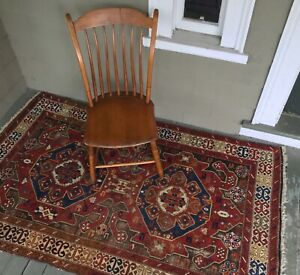 Antique Caucasian Carpet Karabagh Kazak 4 X6 Beautiful Colors And Abrash