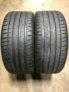 Michelin Pilot Sport 4 S 255 30 22 Brand New Pair Part 23289