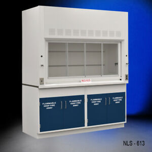 6 Chemical Fume Hood W 2 X 2 Door Flammable Cabinets Fisher American e2 068