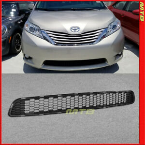 Front Radiator Bottom Bumper Grille Trim For Toyota Sienna 11 17 Lower Honeycomb
