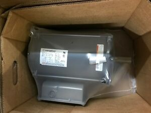 I115 Marathon Air Compressor Motor 7 5hp 1800rpm 1ph Dp 215t New W warranty
