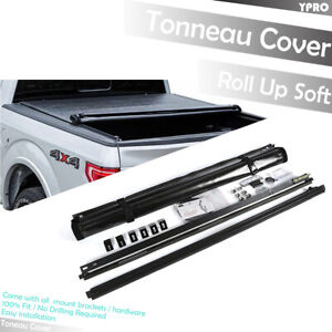Roll Up Soft Tonneau Cover For 2004 2008 Ford F 150 6 5 Ft 78 Truck Bed Covers