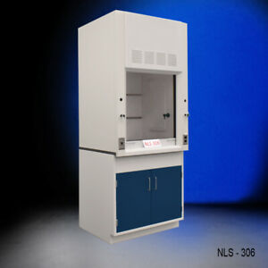 3 Ft Laboratory Chemical Bench Fume Hood With Storage Fisher American E2 415