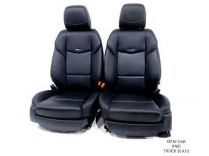 Cadillac Ats Sedan Oem Leather Seats 2013 2014 2015 2016 2017 2018 2019