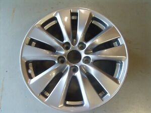 2011 2012 Honda Accord Wheel 17x7 5 5 Double Spoke Full Painted Silver