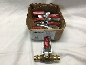 Press 1 2 101 003nl Legend Press Ball Valve Lever Handle Lot Of 6 P 200nl