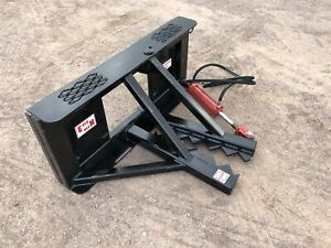 Easy Man Skid Steer Tree And Post Puller Attachment