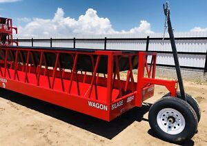 New 24 Red Silage hay Feeder Wagon