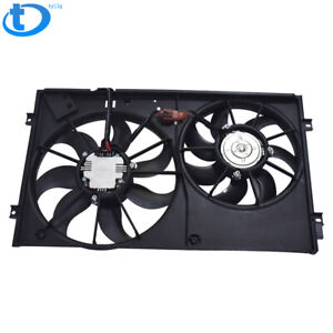 Radiator Cooling Fan Assembly For Volkswagen Beetle Golf Jetta Rabbit 2 0l 2 5l