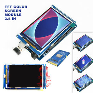 3 5 Inch Tft Lcd Color Display Screen Module Board 320x480 For Arduino Mega2560