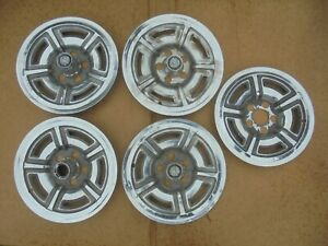 66 67 68 69 Ford Mustang Fairlane Galaxie 15 Wheel Covers Hub Caps