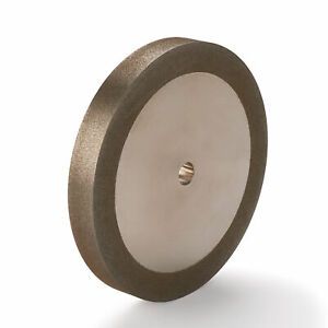 Woodriver 180 grit Cbn Grinding Wheel 6 x 3 4 For Grinders With A 1 2 Arbor