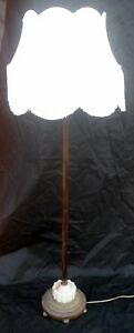 Florida Only Floor Lamp With 5 Lights 3 Switches Fabric Shade Working 60 H