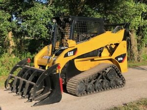 Caterpillar 257b2 High Flow Rubber Track Skid Steer Cat Diesel Track Loader