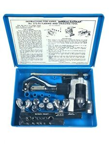 Imperial Eastman Tubing Flaring And Swaging Tool Kit 275 fs