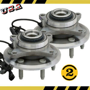 2 Ford Expedition Lincoln Navigator 2011 14 Wheel Bearing And Hub Assembly Pair