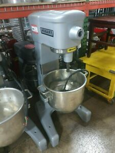 Hobart D300t Commercial 30 Qt Dough Mixer With Timer Single Phase 200 Volts