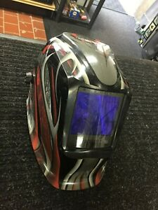 Lincoln Electric Autoshade Welding Helmet 3350 Viking Twisted Metal K3248 3
