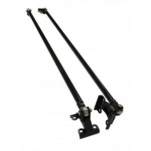 Longhorn Traction Bars With Pro Grade Rod Ends For 1994 2002 Dodge 5 9l Cummins
