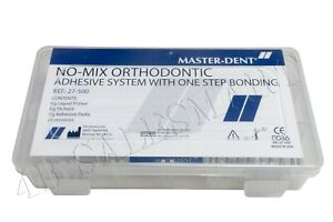 No mix Orthodontic Adhesive System With One Step Bonding