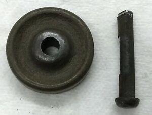 Antique Singer 1 2 Treadle Sewing Machine Caster Wheel W Pin