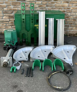 Greenlee 885te Hydraulic 2 1 2 4 Emt Pipe Bender W 980 Pump 881 881ct nice
