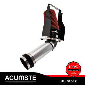 4 Inch Cold Air Intake Induction Kit Red Filter For 99 03 Excursion F250 f350