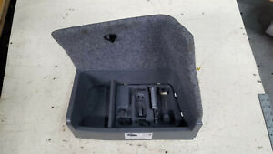 2010 Bmw 328xi E90 Battery Cover Trunk Tool Box Oem