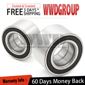 2x 2002 2003 Mazda Protege5 Wheel Bearing Front Replacement 510003 Left Right