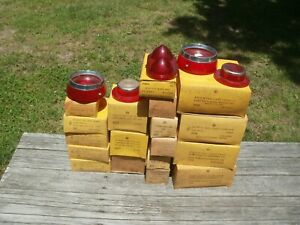 22 Vintage Ford Chevy Olds Tail Light Lens New Old Stock