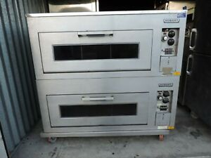 Hobart Pizza bakery Oven Electric deck Oven Mdl Cn60