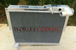 56mm Aluminum Alloy Radiator For Mg Mgb Gt roadster 1977 80 1977 1978 1979 1980