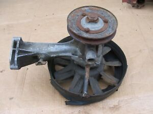1958 Fiat 600 Multipla Used Water Pump With Pulley Fan And Shroud