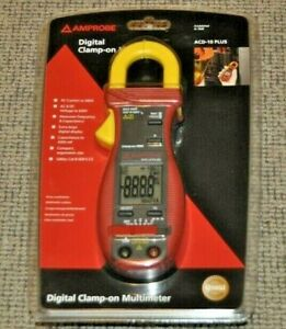 Brand New Amprobe Acd 10 Plus Digital Clamp On Multimeter Current Probe