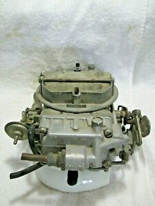 Vintage Holley 6211 4 Barrel Spreadbore Carb Complete Gm Ford Cobra Jet Mopar