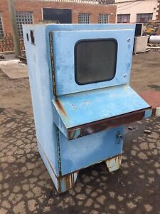 Nema 12 Electrical Control Cabinet Sandblasting Cabinet Used