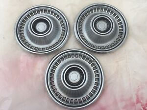 1960 s Chevrolet Chevy Belair Impala Biscayne Nomad Hubcaps Wheel Covers Vintage