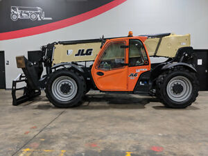 2017 Jlg 1055 10000lb Foam Filled Pneumatic Telehandler Telescopic Forklift